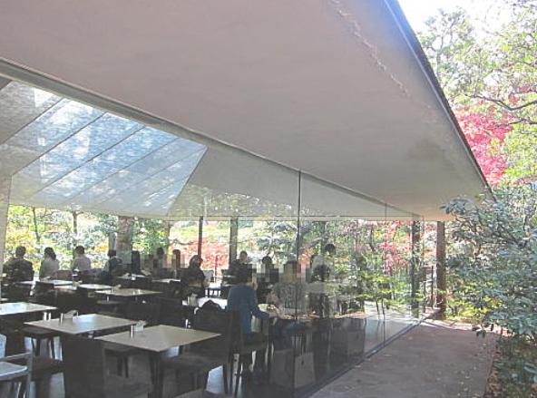 根津美術館のカフェ