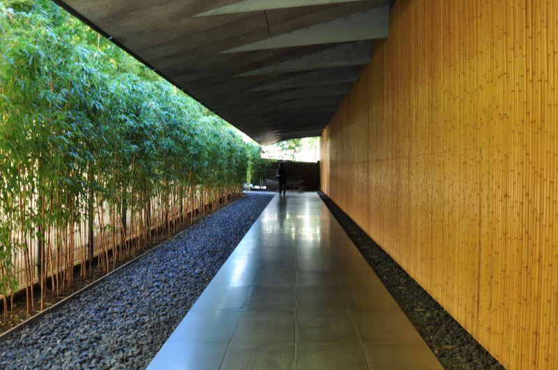 根津美術館の廊下