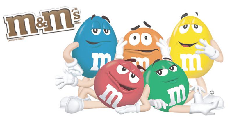 m&mキャラクター