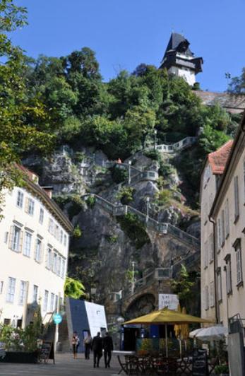 オーストリアの丘