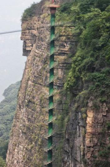 中国の階段