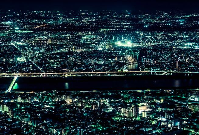 夜景みたい